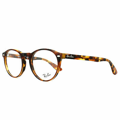 Ray Ban Glasses Frames RX5283 5675 49 Top Havana Brown Yellow 49mm Mens (Ray Ban Havana Eyeglass Frames)