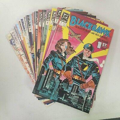 Blackhawk (1989) Complete Set of  18 (#1-16, Ann. 1, Spec. 1) VFNM (Avg.) ()