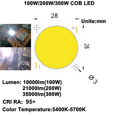 High Cri 95 Ultra Brightness 100w200w300w Cob Led Diy Home Cinema Projector