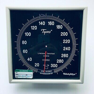 Welch Allyn Tycos Blood Pressure Sphygmomanometer Gauge Wall Mount