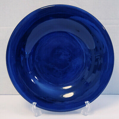 Single Tabletops Unlimited Bon Marche Ceramic Cobalt Blue Dinner Plate | 10.5