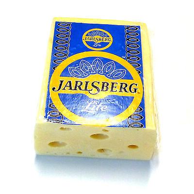 500g Jarlsberg lite fettarm 30 Prozent Fett norwegischer Schnittkäse
