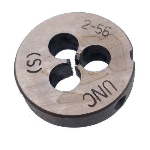 US Stock HSS 2-56 TPI Die Right Hand Thread