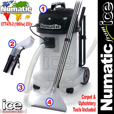 numatic ctt470 2 car valeting carpet upholstery wash cleaner machine equipment ebay. Black Bedroom Furniture Sets. Home Design Ideas