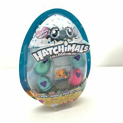 Hatchimals CollEGGtibles, Mermal Magic 4 Pack + Bonus, New Mer-Kittycan S5 1F3