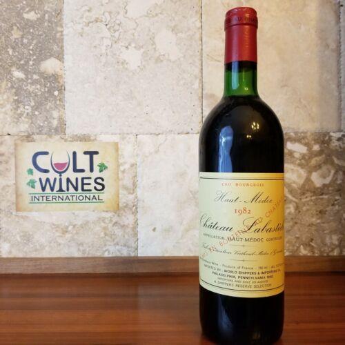 1982 Chateau Labastide Bordeaux wine, Haut-Medoc