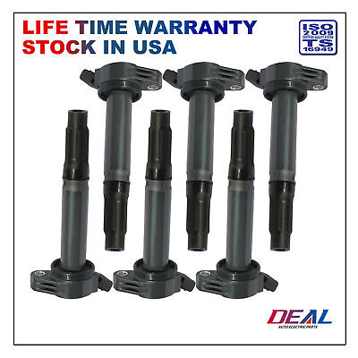 Direct Oe Replacement Engine (DEAL 6pcs New Ignition Coils on Plug Packs For Lexus Toyota 3.5L V6 2GRFE 2GRFXE )