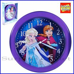 Disney Frozen Clock 10 Round Wall Clock
