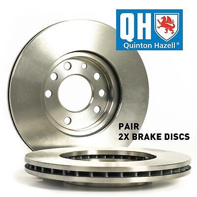 For Mercedes Benz CLK 320 1997-2010 Front Axle Vented QH Brake Disc Pair