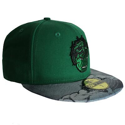 New Era 9Fifty Marvel The Hulk Hat Sketch Snapback Green