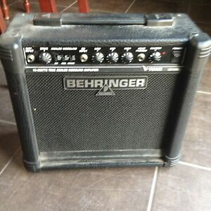Behringer electric guitar amp