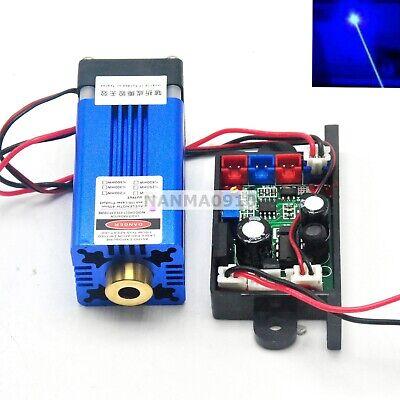 12v Dot Blue Laser Module 445nm 450nm 1.5w W Pltb450 Diode Long-time Working