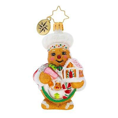 [NEW Christopher Radko SWEETEST CHEF AROUND Christmas Ornament 1019732 Little Gem</Title]
