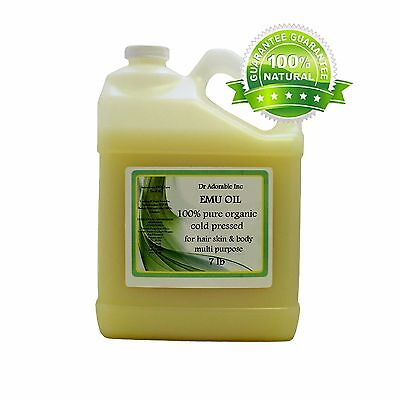 AUSTRALIAN EMU OIL 100%PURE EMU OIL BY DR.ADORABLE  ONE GALL