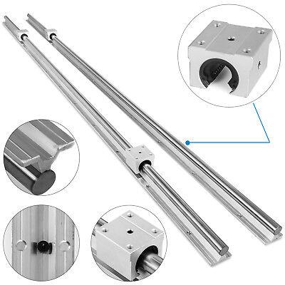 Sbr16-2000mm 2x Linear Rail Set 4x Bearing Block Cnc Set Lathes Grinding Popular