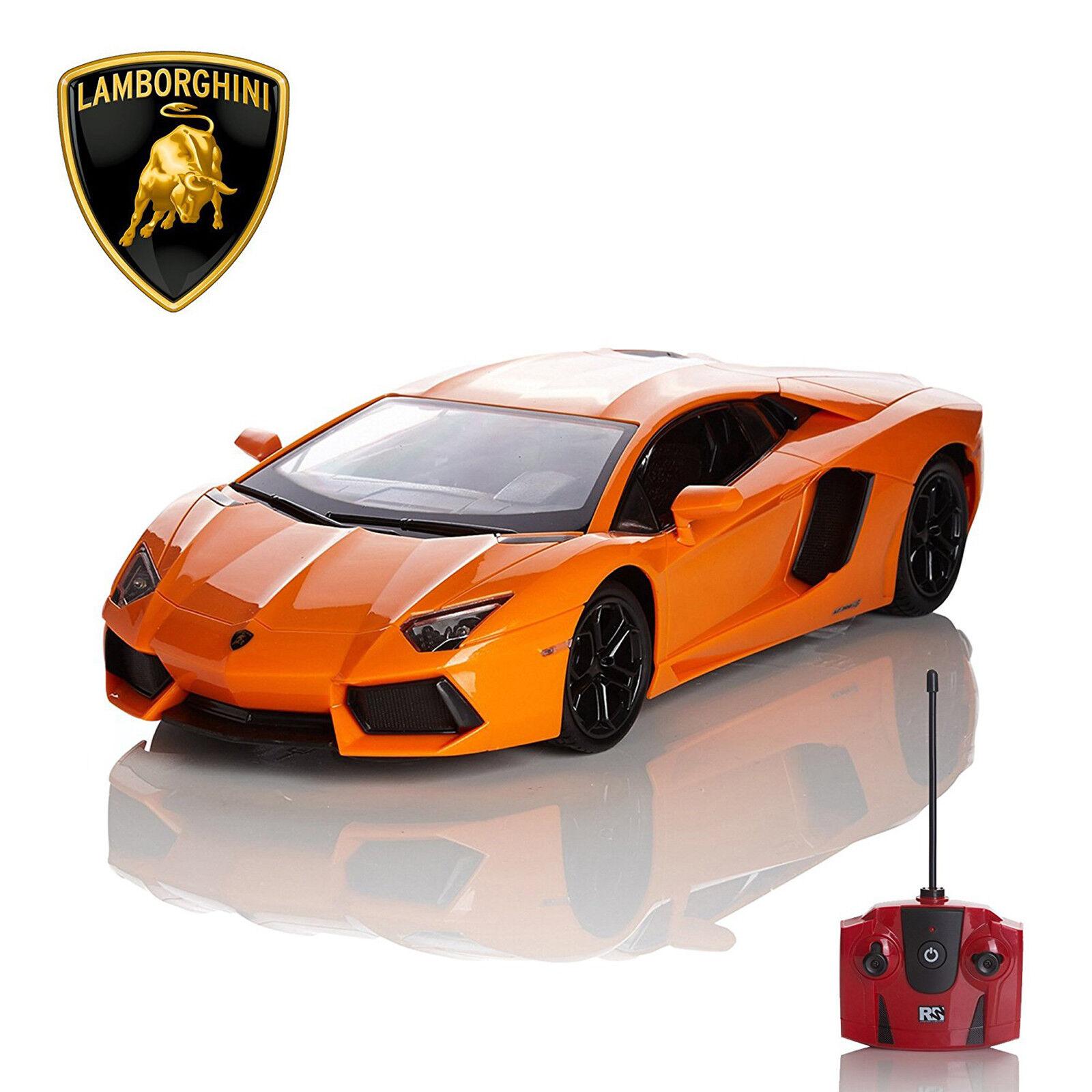 Official Lamborghini Aventador Lp700 4 Rc Toy Car Radio Controlled