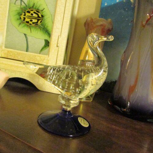 MURANO GLASS BIRD  PAPER WEIGHT   BEAUTIFUL