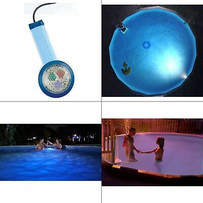 multicolor underwater light for above ground pool | pools smart nightlighter new