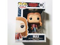 Funko Pop Vinyl Stranger Things S2 Max With Skateboard #551 Figure