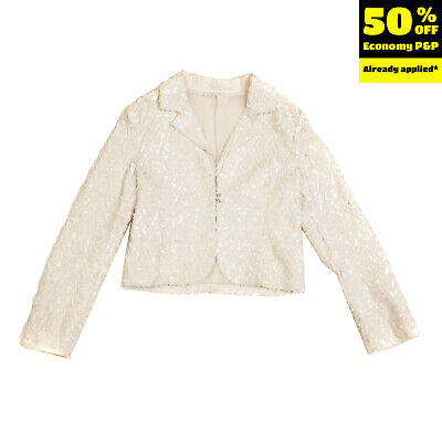 RRP €195 MISS GRANT Blazer Jacket Size 6-7Y / 116-122CM Sequined