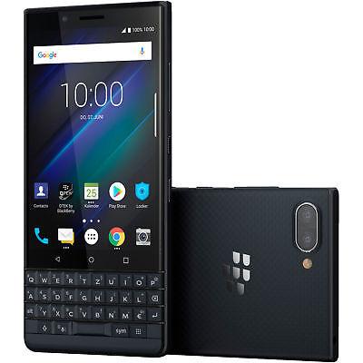BLACKBERRY Key2 LE Smartphone 64GB 4GB 4.5 Zoll Slate Dual SIM 13MP NEU OVP Blue