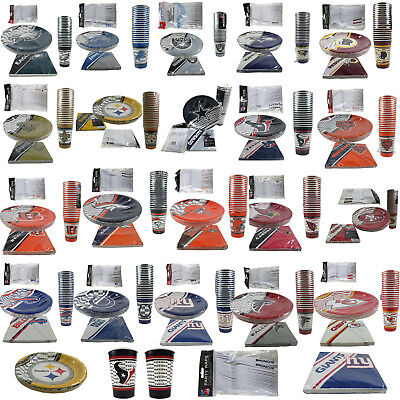 Picnic Party Supplies (NFL Pick Your Team Picnic Tailgate Party Supplies Plates Cups Forks)