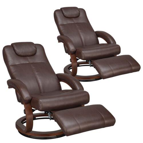 "RecPro Charles 28"" RV Euro Chair Recliner Ergonomic RV Furniture Seats 2-Pack"
