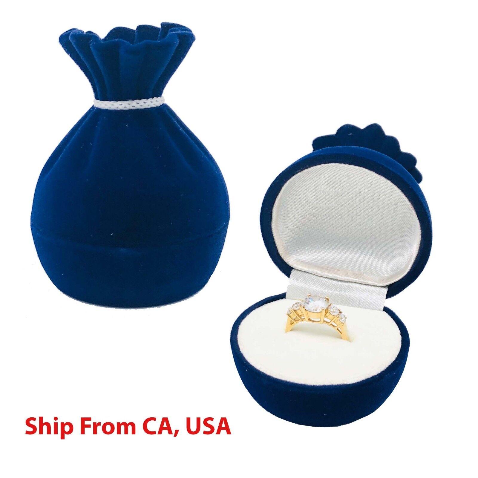 Ring Box | wedding proposal box | Gold Sacks Ring jewelry Bo