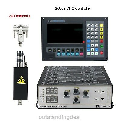 2-axis Cnc Controller Plasma Thc Lifter 2400mmmin For Plasma Cutting Machine