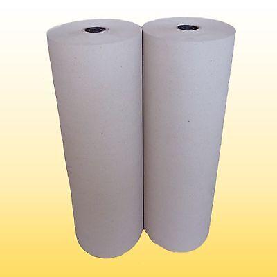 2 Rollen Schrenzpapier Packpapier 75 cm breit x 200 lfm 100 gm² 1Rolle=15kg