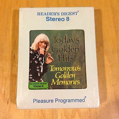 Reader's Digest, Today's Golden Hits, Tape 2~8 Track Tape Sealed *