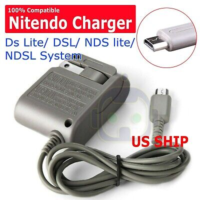AC Adapter Home Wall Charger Cable for Nintendo Ds Lite/ DSL/ NDS lite/ NDSLs