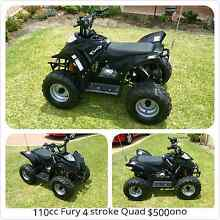 Fury 110cc Quad Bike and 49cc 2stroke kids Quad Sinagra Wanneroo Area Preview