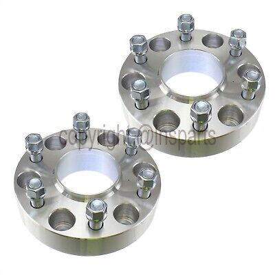 """2pcs Hubcentric Wheel Spacers 1.5"""" 6x5.5 Fits Chevy Silverado Tahoe Suburban"""