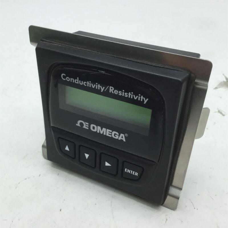 Omega CDTX-90-3 Conductivity/Resistivity Transmitter Panel Mount 12-24VDC
