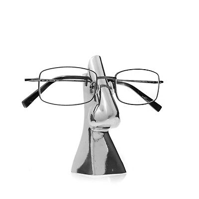 Eyeglasses or Sunglasses Holder - Handmade Decorative Stand - Silver