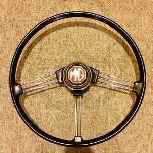 MG MGB 62-67 ORIGINAL BANJO STEERING WHEEL