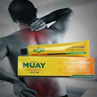 100g NAMMAN MUAY Thai Boxing Cream Analgesic Massage Balm Muscular Pain Relief
