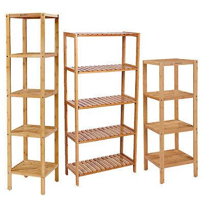Standregal Badregal Küchenregal Wandregal Bücherregal Handtuchhalter Bambus - Stand Handbücher