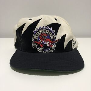 1994 Logo Athletic Toronto Raptors Sharktooth SnapBack Hat