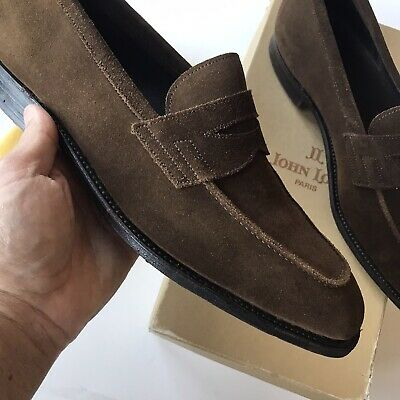 John Lobb Loafers Shoes 7.5 EE