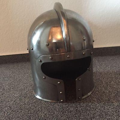 Ritterhelm, Handgeschmiedet (LARP, Mittelalter,Ritter,Helme)