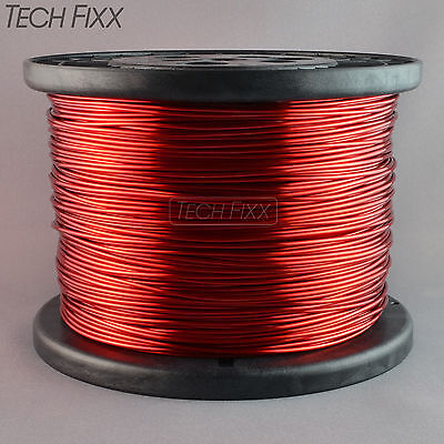 Magnet Wire 16 Gauge Enameled Copper 1235 Feet Coil Winding 9.82 Lbs Essex Red