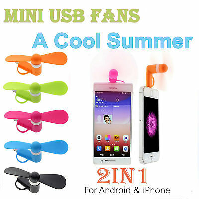 Mini Portable Micro USB Mobile Phone Cooling Fan Cooler For iPhone SAMSUNG HTC