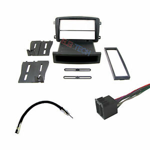 mercedes c class 2001 2004 radio dash kit with wire harness and antenna adapter ebay