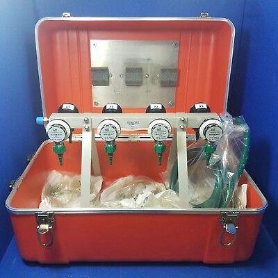 Allied Health Lsp Multilator Emergency Oxygen Inhalator Distribution 8 Valves