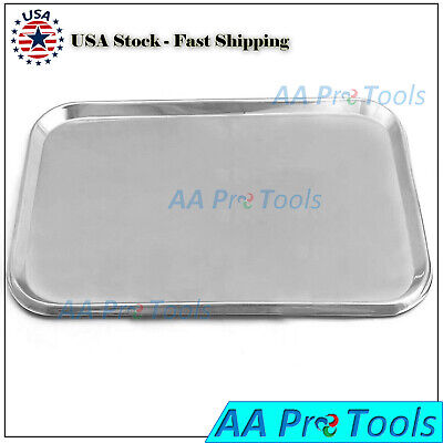 Stainless Steel Instruments Tray Flat 19 X 12-12 X 58 Surgical Instruments