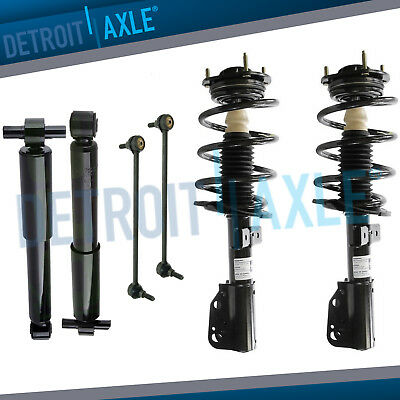 6pc Front Struts Rear Shocks Links 07 16 Buick Enclave Traverse GMC Acadia 36L