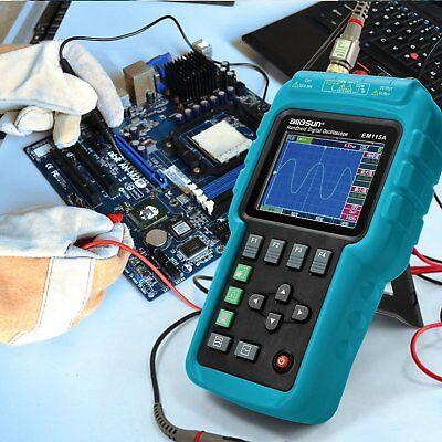 Digital Scopemeter Multimeter Oscilloscope Volt Ohm 50Mhz Bandwidth Color Screen