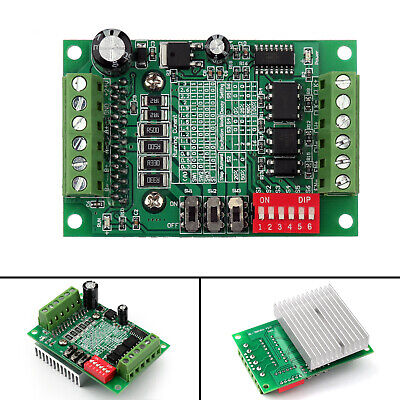 1pcs Tb6560 3a Cnc Router Single 1 Axis Controller Stepper Motor Driver Board Un
